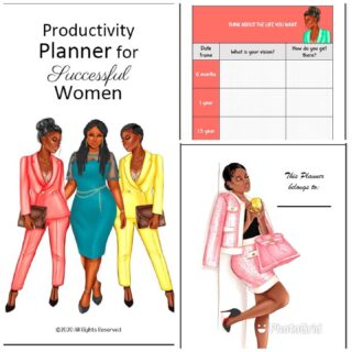 I need to sell 10 of these to reach my goal. If you share on social media you get 10% off. Women productivity planner. Fillable & printable. Non dated. bit.ly/womenplanner or link in my bio