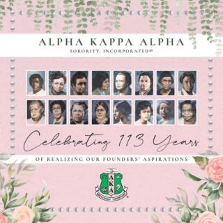 Happy Founder's Day to my beautiful first and finest Sorors of Alpha Kappa Alpha Inc 💕💚💕💚 #theoriginals #AKA #firstandfinest #Skeeeeweee